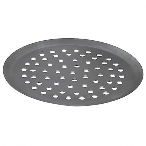 Round tray, perforated steel
