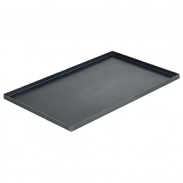 Baking tray straight edges, steel