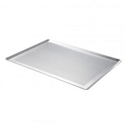 Plaque de cuisson perforée bords pincés