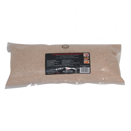 Beech sawdust for smoker oven