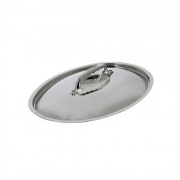 AFFINITY / INOCUIVRE oval stainless steel lid