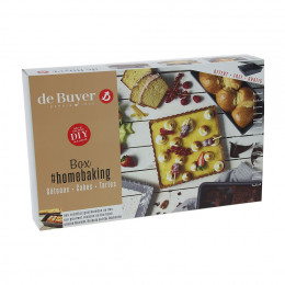 Box HOMEBAKING Gâteau Cake Tarte