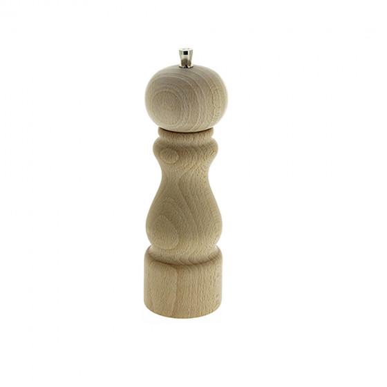 Salt mill wood 20 cm RUMBA