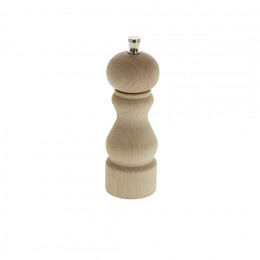 Pepper mill wood 14 cm RUMBA