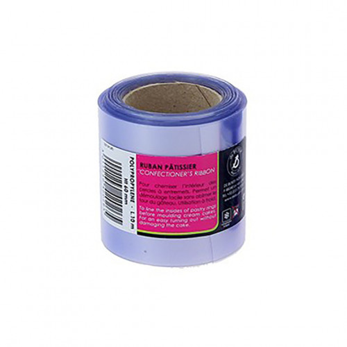 Pastry ribbon 10 m Ht 6 cm