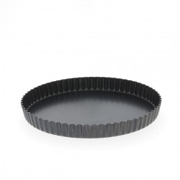 Fluted tart mould, steel