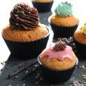 Set 6 cup cakes moulds MOUL FLEX, silicone