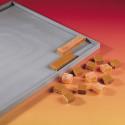Plaque lisse à rebord ELASTOMOULE, mousse de silicone