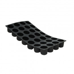 Tray 28 mini Canelés bordelais MOUL FLEX, silicone