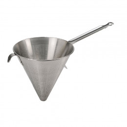 Chinese strainer, microperforated stainless steel