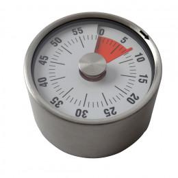 Minuteur mécanique inox
