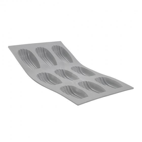 Tray madeleines ELASTOMOULE, silicone foam