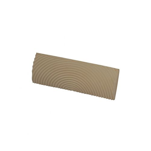 wooden effect pastry comb