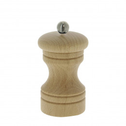 Universal mill for salt, pepper and spices wood 10 cm PASO